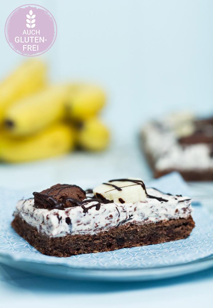 Bananensplit-Schnitten