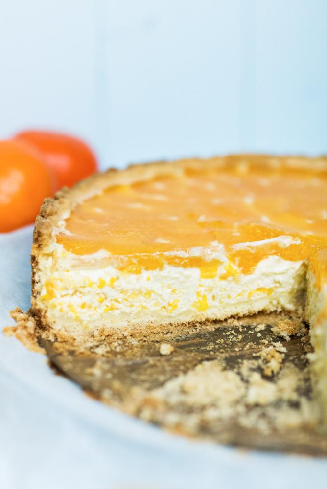Mandarinen Schmand Kuchen Puderzuckerliebe