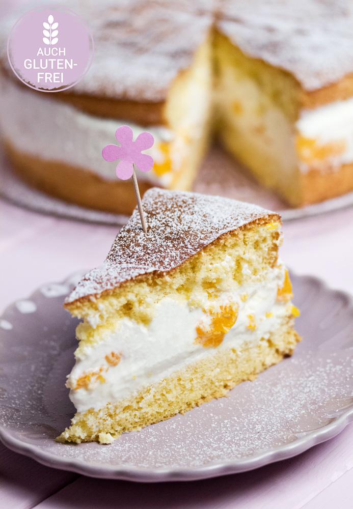 Mandarinen-Käse-Sahne-Torte